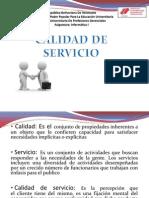 Calidad de Servicio