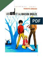 Roberte Armand 02 Les 3N Et La Maison Brulée 1972 04