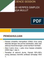 CSS herpe simplex oral manfest.pptx