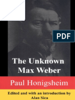 The Unknown Weber