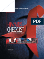HIV/AIDS Checklist for Water and Sanitation Projects