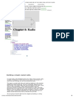 Chapter 4_ Radio -- Build a Simple Crystal Radio Set. Fast, Simple, Cheap, And It Uses No Power