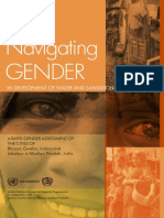 Navigating Gender in Development of Water and Sanitation in Urban Areas – a Rapid Gender Assessment of the Cities of Bhopal, Gwalior, Indore and Jabalpur in Madhya Pradesh (India)