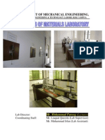 Mechanics Materials Lab