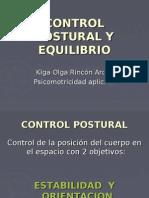CONTROL POSTURAL Y EQUILIBRIO