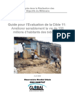 Guide Pour l'Evaluation de La Cible 11