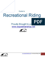 Guide to Recreational Horse Riding