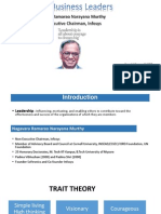 Narayan Murthy - Leadership Traits