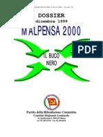 Dossier Malpensa 2000 Prc