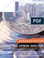 Financing Urban Shelter (Abridged Edition)
