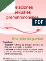 relaciones sexuales prematrimoniales