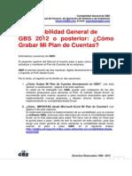 GBS Como Grabar Mi Plan de Cuentas