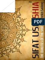 SIFAT USH SHIA Qualities of Shia (Sheikh Sadooq [ar])