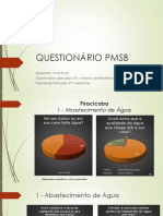 QUESTIONÁRIO PMSB