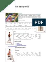 Exercitii Pentru Osteoporoza
