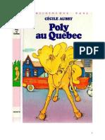 Aubry Cécile Poly 17 Poly Au Quebec 1982