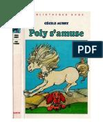 Aubry Cécile Poly 15 Poly s'Amuse 1981