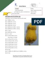Pikachu Pattern PDF