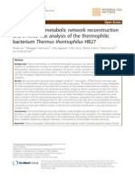 Genome-scale Metabolic Network Reconstruction