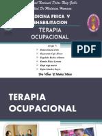 terapia ocupacional