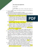 Condiciones Para Escribir Artículos Para LegisComex