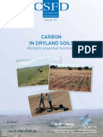 Carbon in dryland soils. Multiple essential functions
