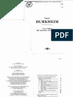 Durkheim_Reglas Met Soc_cap 1