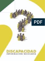 Discapacidad Informacion Necesaria Salud
