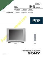 Sony KV-29FS140 Diagrama