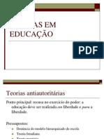 Teorias Em Educação - Overview