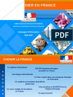 Etudes en France Programmes de Bourses AMBASSADE de FRANCE