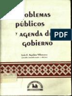 Villanueva - Problemas Publicos y Agenda de Gobierno, 1993