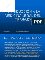 01 Introduccion a La Medicina Legal Del Trabajo