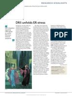R.hightlight - DR5 Unfolds ER Stress