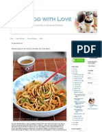 To Food With Love_ Wuhan-Inspired Hot and Dry Noodles (Re Gan Mian)