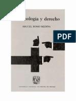 Criminologia y Derecho - Miguel Romo Medina - PDF