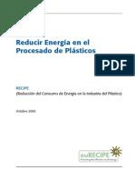 Reducir Energia en El Procesado de Plasticos