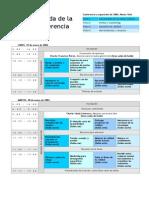 Modelo de Agenda