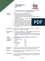1. MEMB 263 - Course Outline - Oct 2012