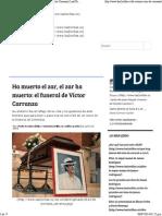 Ha Muerto El Zar, El Zar Ha Muerto_ El Funeral de Víctor Carranza _ Las2Orillas.co
