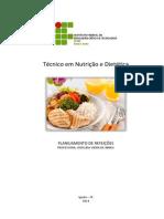 Apostila Planejamento de Refeições PDF