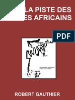 SUR LA PISTE DES MYTHES AFRICAINS