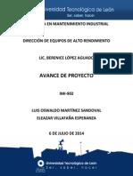 Proyecto Dear Avance