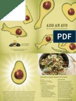 Avocado Recipe Booklet No 1