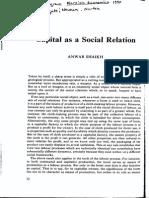 SHAIKH Anwar-Art1990-Capital as a Social Relation