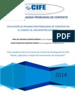 Evaluación Basada en Problemas de Contexto-CiFE
