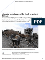 Life Returns to Gaza Amidst Shock at Scale of Damage _ Middle East Eye
