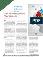 Judges' Journal 2014 Domestic Violence - Impact on Children - Neuroscience