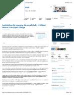 04-08-14 Legislativo dio muestra de pluralidad y civilidad