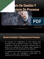 Tema 11 Modelo de Gestión Y Reingeniería de Procesos